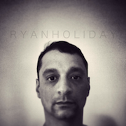 Ryan Holiday: Selfish Bruises