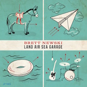 Brett Newski: Land Air Sea Garage