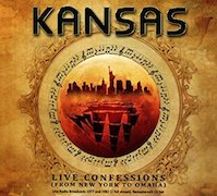 Review: Kansas - Live Confessions (From New York To Omaha)