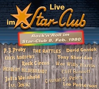 Various Artists: Live im Star-Club – Rock'n'Roll im Star-Club 8. Feb. 1980 <br> <b>= Kurz-Review =</b></br>