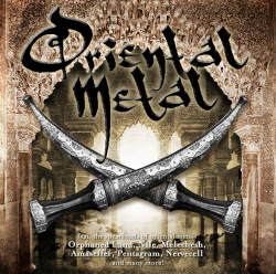 """Oriental Metal"" Compilation Cover"